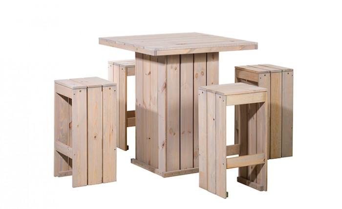 Bartafel set, 4x barkruk, 1x statafel (Art. 11670).jpg