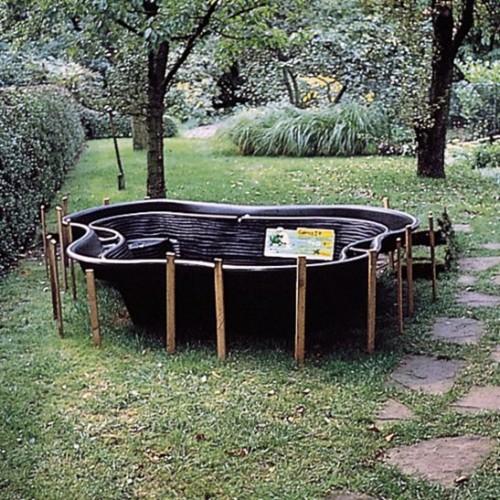 Voorgevormde vijvers de tuinen van appeltern for Goedkope voorgevormde vijver