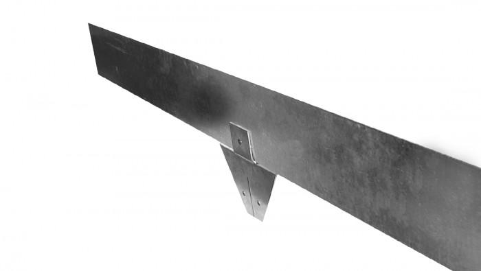 Kantopsluiting Staal 150, 4VD (15 cm hoge metalen Kantopsluitingssysteem, Gardliner).png