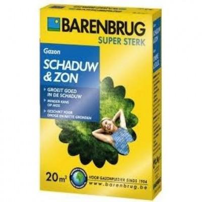 Barenbrug Schaduw & Zon 500 gram (graszaad 20 m2 siergazon in de schaduw, Artikelnummer 0230).jpg