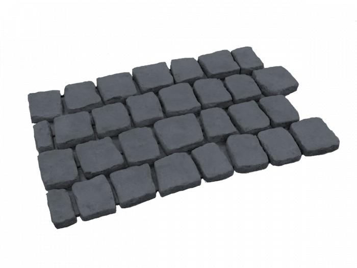 Carpetstones type E21 Basalt per stuk (2 cm dik).png