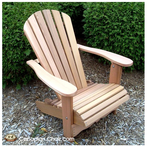Classic Adirondack Chair CA11 (Canadian Chair, Canadese tuinstoel).png