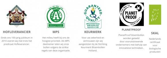 Keurmerken JUB Holland