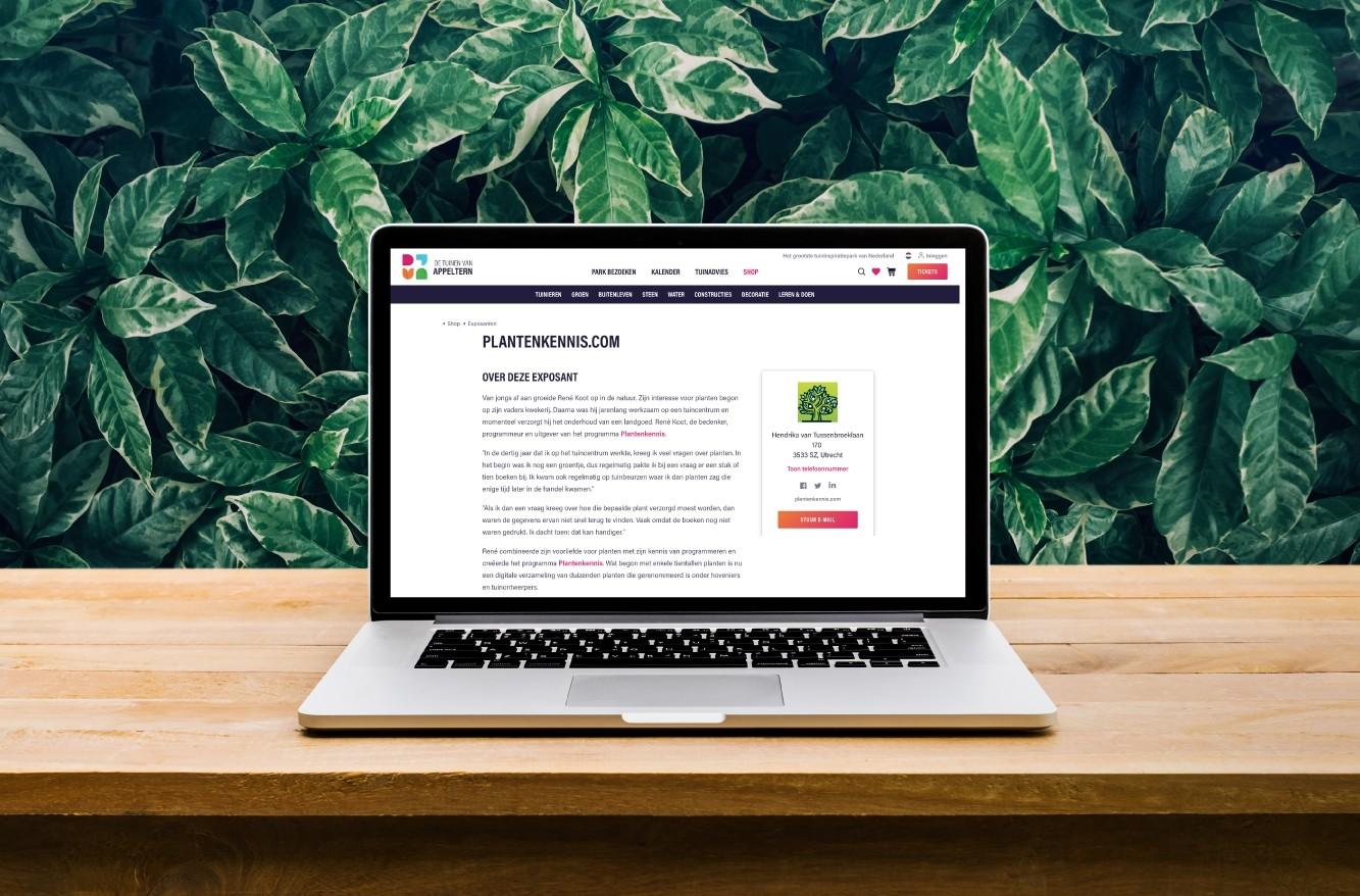 Partnerpagina - Appeltern.nl