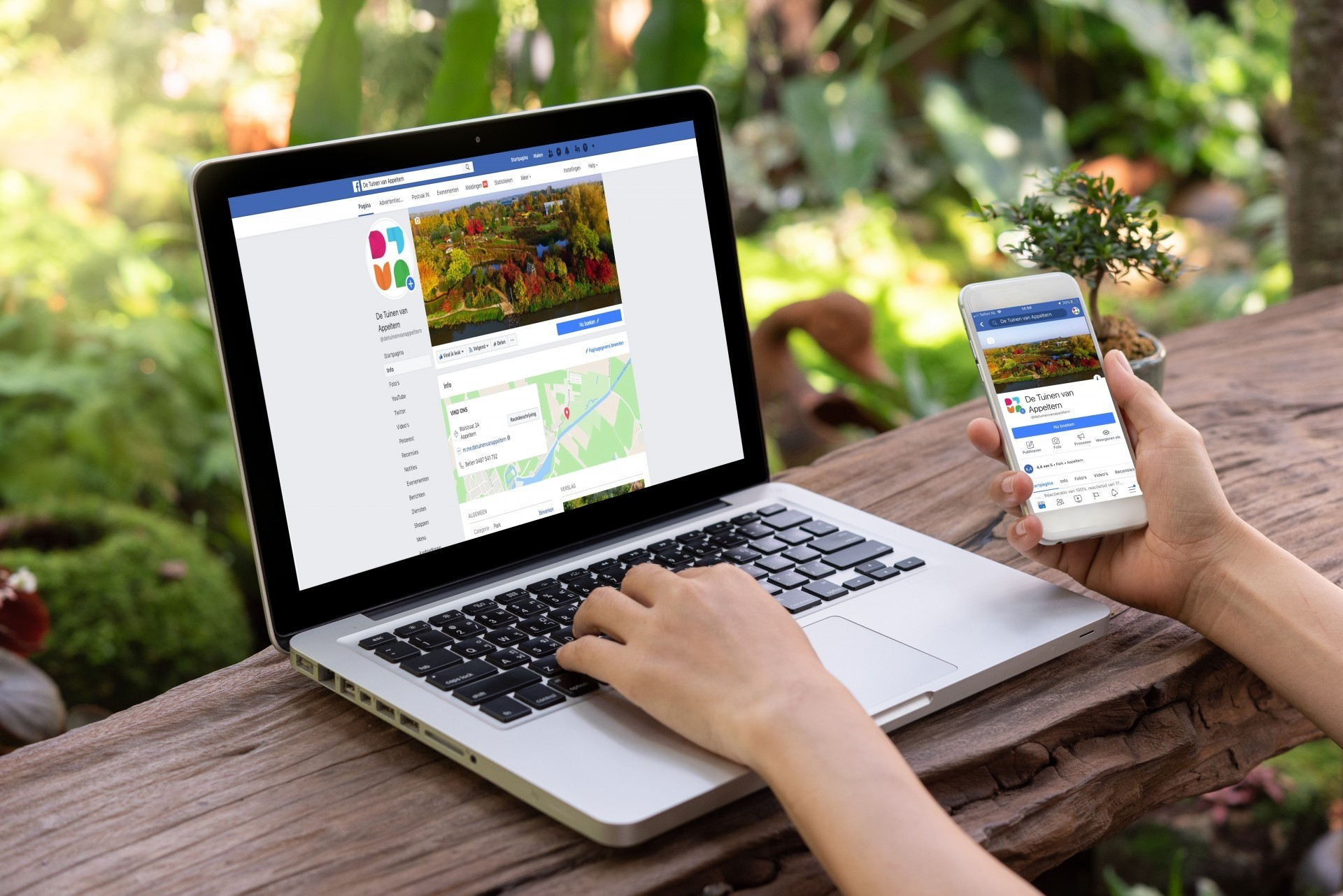 Social Media - De Tuinen van Appeltern