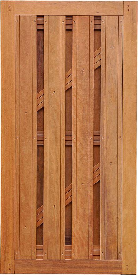 Felix Clercx | Charmant Poort 20 Keruing | 180x100 cm