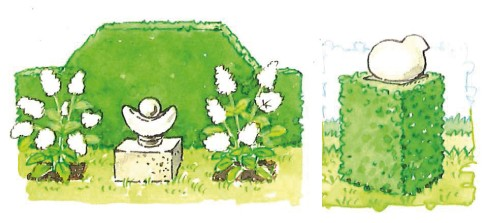 tuinornamenten tuininrichting