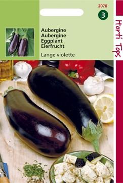 Aubergine Halflange Violette (zaad Solanum melongena) 12070.jpg
