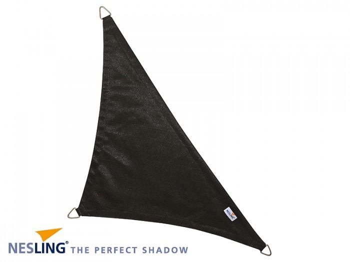 Coolfit schaduwdoek Driehoek 90°,  4 x 4 x 5.70m  Zwart.jpg