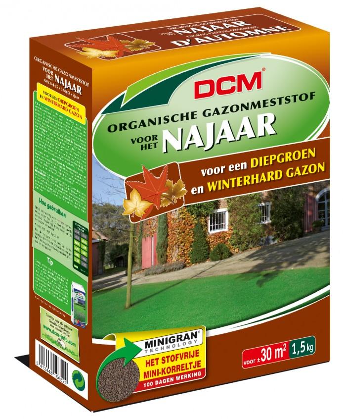 DCM Organische Gazonmeststof voor het Najaar - 1,5 kilogram (Gazonmest, Gazonbemesting).jpg